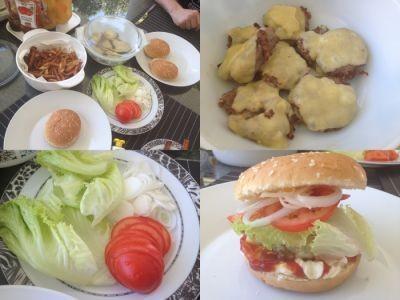burger priprava