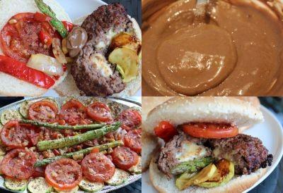 hamburger grill