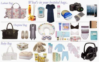 hosptial bags x3