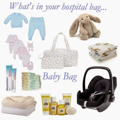 hosptial bags x3 BABY