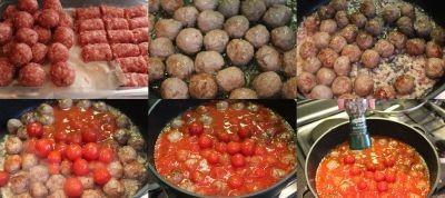 kroglice v paradižnikovi omaki