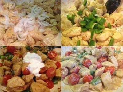 piščanec z ingverjem in zelenjavo