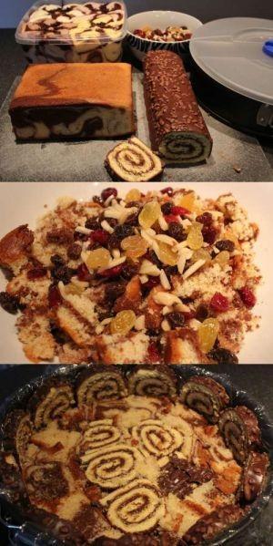 sladoledna torta priprava
