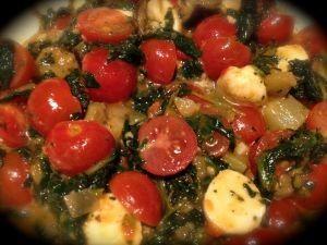 solata pečena in sveža